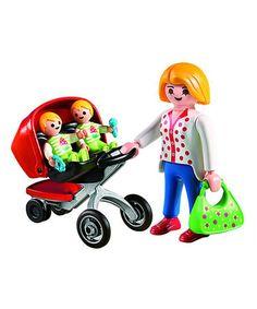 Look at this #zulilyfind! Mother & Twin Stroller Set #zulilyfinds