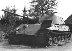 A Tiger King abandoned in good condition around area of La Gleize, Belgium during 1945