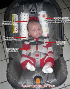 This picture could save your baby (or the baby of someone you love.) #carseat