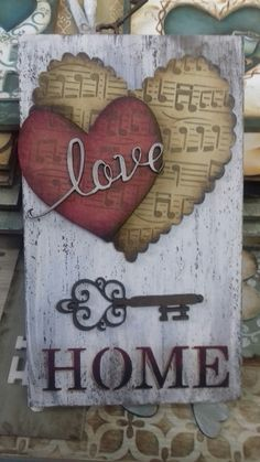 Lar doce lar porta Chave Arte Pallet, Barbed Wire Art, Wood Projects, Projects To Try, Wood Crafts, Paper Crafts, Shabby Chic Crafts, Painted Wood Signs, Heart Crafts