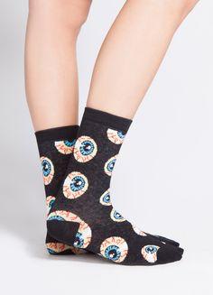 Eyeball socks