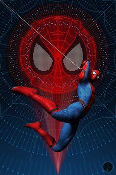 Spider-Man: Homecoming art by John Aslarona