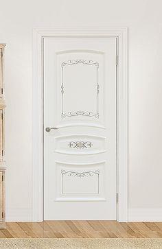 Межкомнатная дверь «Флоренция». Отделка «прованс бирюза» #дверирулес #двери…
