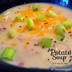 Fresh from the Farm: Potato Soup