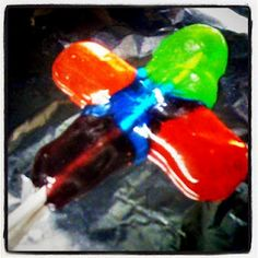 Jolly Rancher Cross Lollipop