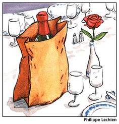 How to bring your own wine to a restaurant. BYOB?