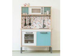 IKEA Kinderküche pimpen mit Möbelfolie TRIANGLIG! von Limmaland - Kleben. Spielen. Leben. auf DaWanda.com