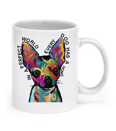 This beautiful mug is one of our best sellers. It comes in a high-quality, 11 oz ceramic mug thats dishwasher and microwave safe.  Its 100% printed and shipped from my home in Pennsylvania by either me, my brother, or my sister. We pour our love into everything we do and a portion of proceeds go to rescues. :)