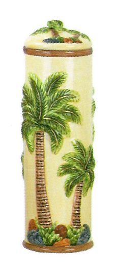 Amazing Palm Kitchen Decor | Amazon.com: Palm Tree Curtains: Home Kitchen