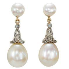Filigree vintage pearl earring at debenhams.com   ~*~MyStyle ...