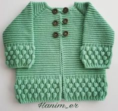 Knitting Patterns, Knitting Designs, Knitting For Beginners. Crochet Baby Sweaters, Baby Sweater Knitting Pattern, Knitted Baby Cardigan, Baby Pullover, Baby Hats Knitting, Baby Knitting Patterns, Knitting Designs, Knitted Hats, Yarn Crafts For Kids