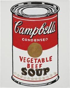 Mike Bidlo - Not Warhol (Campbell's Soup Can, Chicken Gumbo Soup, 1962),1984-1986
