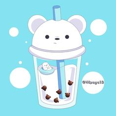 Cute Panda Wallpaper, Bear Wallpaper, Cute Disney Wallpaper, Kawaii Wallpaper, We Bare Bears Wallpapers, Panda Wallpapers, Cute Cartoon Wallpapers, Cute Animal Drawings Kawaii, Cute Easy Drawings