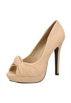 MARJIN  Beige SUEDE Shoes