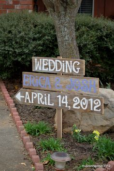 Wedding Signage ANY COLOR Reclaimed Wood by TRUECONNECTION on Etsy