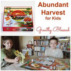 Greatly Blessed: Abundant Harvest #GIVEAWAY #honesty @Stand4Character