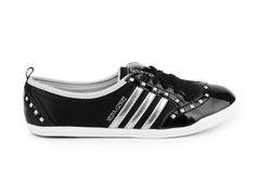 Adidas Neo - Dámské balerínky se šněrováním Coneo Miona SG Q38972 (speciální edice Selena Gomez) Q38972 / černá
