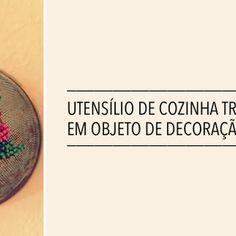 DIY: PENEIRA BORDADA