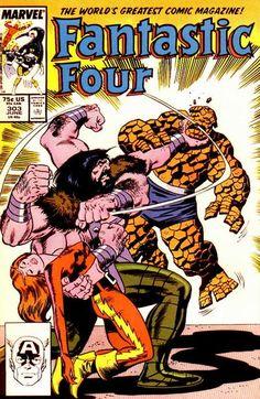 Fantastic Four # 303 by John Buscema