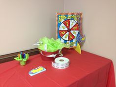 Tickets for prizes positive discipline spin the wheel Vbs colossal coaster world Lifeway