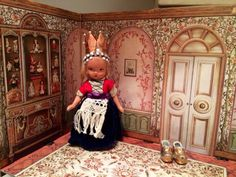 Little bisque Nancy Ann Storybook doll no proof but by Jewelmoon