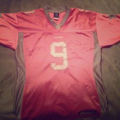 Pink Cowboys Jersey - Romo Great condition! Long/oversized Reebok Tops Tunics
