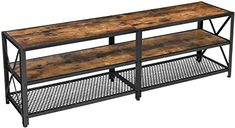 Amazon.co.uk : mid century console table 60 Kg, Mid Century Console, Tv Cabinets, Console Table, Dining Bench, Entertainment Center, Steel Frame, Entryway Tables, Industrial Style