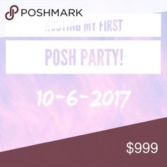 🎉 HOSTING MY FIRST POSH PARTY 🎉 I'm so so excited that I can finally say I'll be co-hosting a party in October! 🎉💃🏼 It's a ways away, but I'd love to start bookmarking my favorite closets for potential host picks! Follow me, share and like this listing, and be sure to tag your PFFs! 💖 I'll pick all my host picks straight from this listing!! I'll announce the theme once I know more! Thank you in advance for making this party a success 🤗🌈 Dresses