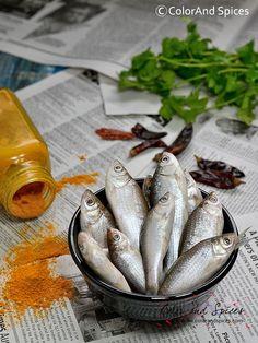 Spicy fish curry...puNti macher jhal, I used mud carp