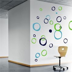 Wall Decals - Retro Rings