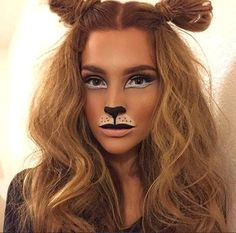 Lion Halloween Costume, Lion King Costume, Scary Halloween, Diy Lion Costume, Lion Costumes, Jungle Costume, Deer Costume, Lioness Costume Diy, Simple Halloween Costumes