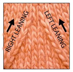 The same way there are two versions  of knit decreases , there are also two versions of purl decreases: the right-leaning and the left-leani...