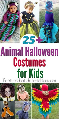 Does your little animal lover want to dress up as his favorite species? Check…