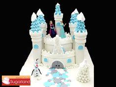 frozen castle birthday cakes | Frozen Castle Cakes 2