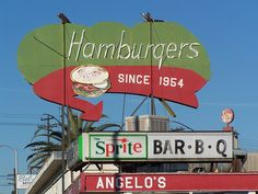 Fresno Neon Signs -  Angelo's Drive-In by Tom Spaulding, via Flickr