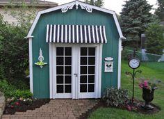 Simple shed upgrades via Bob Vila