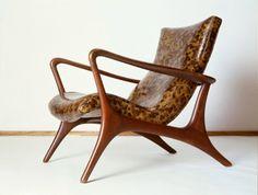 Fantastic Furniture - Mid-Century Modern Design -Vladimir Kagan Contour low back lounge chair