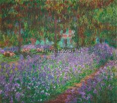 Claude-Monet_Le-jardin-de-l-¦artiste-a¦Ç-Giverny_1900 https://dashburst.com/art_printworld/10