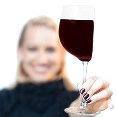 Halbes Weinglas - Half Cut Wine Glass - 375ml - Novelty Wine Glass - Tolle Geschenkidee