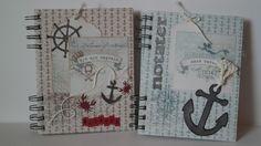 scrappehjertet.blogspot.no: DT Lene Notebook, Scrapbooking, Scrapbooks, Memory Books, Exercise Book, The Notebook