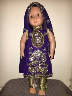 Special Occasion outfit for 18 inch doll