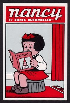 """Dad read me the """"funnies"""" as I curled up on his lap."""