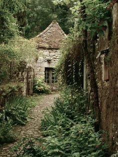 The witch's home