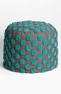Nordstrom at Home 'Tufted Spots' Pouf | Nordstrom- for extra family room seating