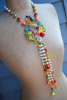 Fiesta III - A Necklace of Celebration CUSTOM ORDER FOR STEPHANIE