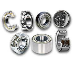 Double direction thrust bearing supports both clockwise as well as anticlockwise simultaneous rotations of loads on an axis.