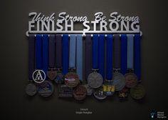 Marathon Medal Hangers | Sport & Running Medal Displays | The Original Stainless Steel Medal Display
