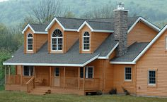 Conestoga Log Cabins has been providing quality Cabin Kit Homes since Contact us today for more information on our Windsor Log Home Kit. Cabin Kits For Sale, Log Cabin Home Kits, Cabin Kit Homes, Log Homes, Cabin Floor Plans, House Plans, Exterior Angles, Flooring Sale, Mountain Living