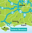 Solent Breezes Holiday Park nr Hamble - Hampshire Caravan Holiday Availability