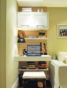 decoracao sala de estar e home office junto - Pesquisa Google